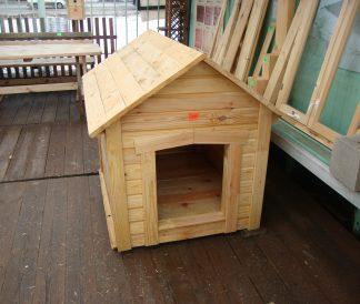 Будка для небольшой собаки деревянная