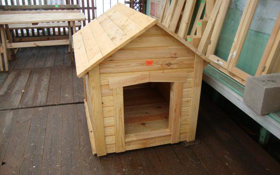 Будка для небольшой собаки 0,8х0,8м