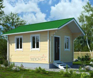 Дачный дом из бруса «Родничок-2» 2х3м 6м²