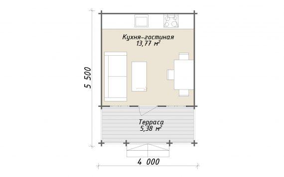 dachnyj-domik-iz-brusa-5-5h4m-seriya-provans-planirovka