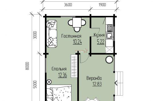dachnyj-domik-iz-brusa-8h5-5m-seriya-provans-planirovka