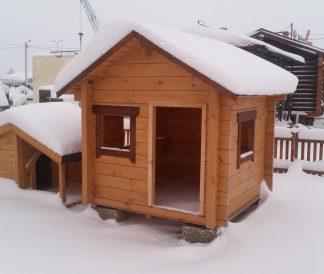 Детский домик №1 1,5х1,5м 2.25м²