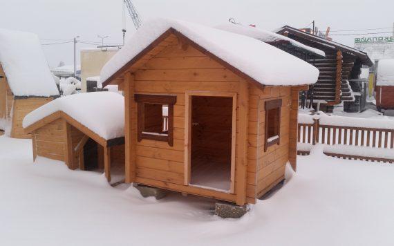 Детский домик деревянный №1 1,5х1,5м