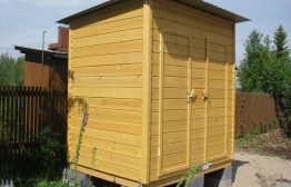 Хозблок 2х1,5м деревянный