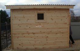 Хозблок 2х2м деревянный