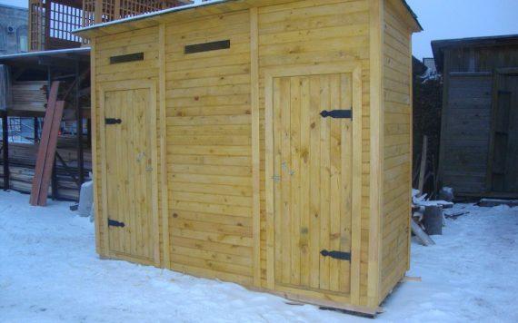 Хозблок 3х1м деревянный