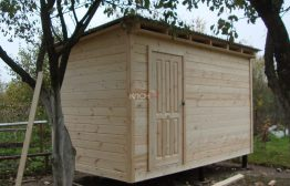 Хозблок 3х2м деревянный