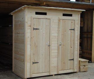 Хозблок с туалетом 2х1м 2м²