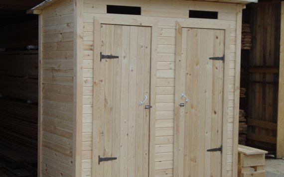 Хозблок-туалет 2х1м деревянный