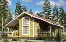 Каркасный дом «Добрынское» 10,4х10,2м