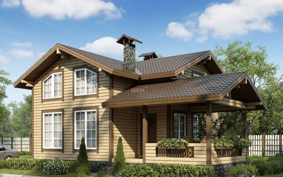 Каркасный дом «Клязьма» 7,7х10,4м 115м²