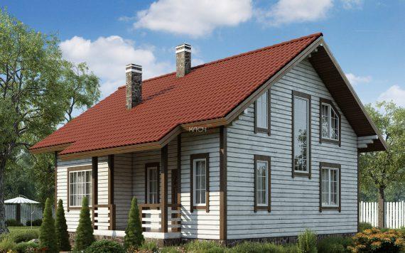 Каркасный дом «Ковров» 10,4х9,5м
