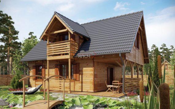 Каркасный дом «Суздаль» 10,2х8,1м 155м²