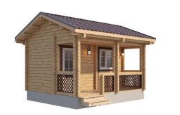 Дом из двойного бруса «Демидов» 10х9м 164м²