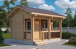 Дачный домик «Емеля» 4,5х4м