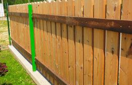 Как построить недорогой забор