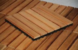 Как делают деревянные полы в бане