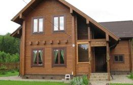 Срок службы домов из клееного бруса