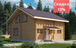 Дом из двойного бруса «Тампере» 8,5х8м 136 м²
