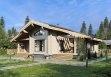 Дом из клееного бруса «Пушкино» 10,9х11,2м 116м²