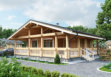 Дом из клееного бруса «Нагорье» 10,5х8,75м 81м²
