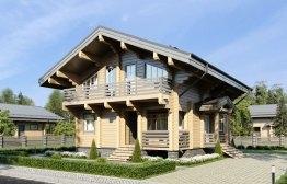 Дом из клееного бруса «Михнево» 7,7х10,2м 149м²