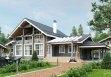 Дом из оцилиндрованного бревна «Ангелина» 10,2х16,8м 197м²