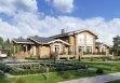 Дом из оцилиндрованного бревна «Юлия» 27,4х15,63м 458м²