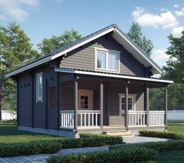 Дачный дом «Мечта дачника»
